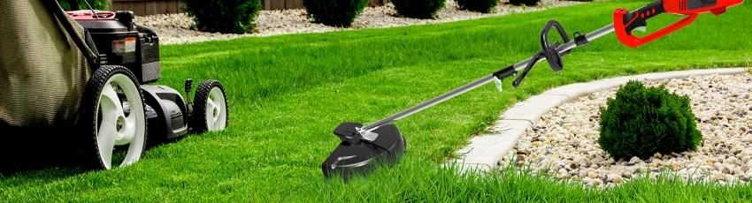Выбор триммера и газонокосилки
